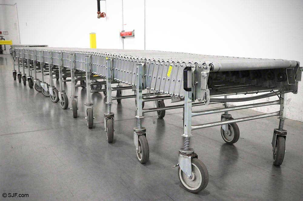 Flexible Amp Extendable Conveyors New Amp Used Sjf Com