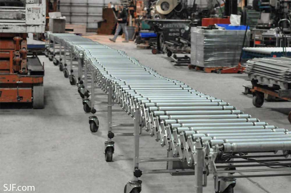 NestaFlex Powered Roller Conveyors