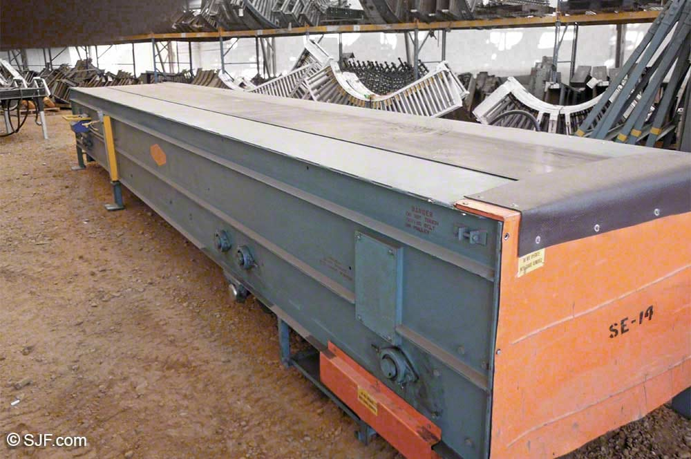Stewart-Glapat Telescoping Conveyor