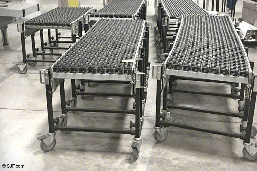 Flexible Skatewheel Conveyor