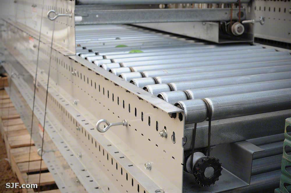 Lineshaft Powered Roller Conveyors (New & Used) | SJF com