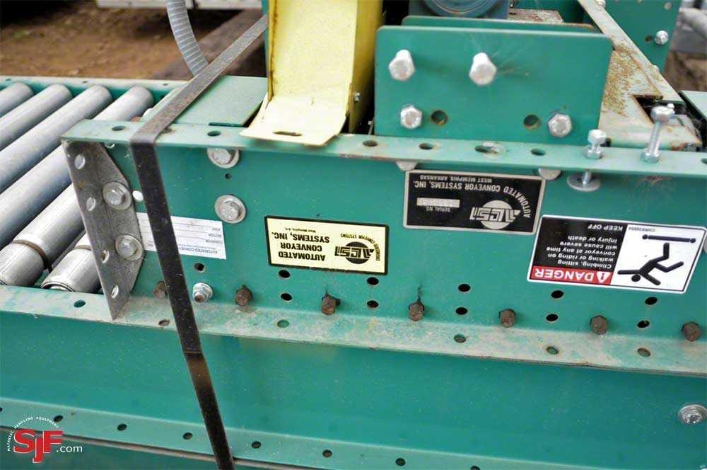 Used ACSI Lineshaft Conveyor