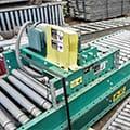 Used ACSI Lineshaft Conveyor at SJF Material Handling