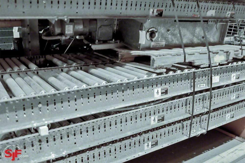 Automotion Belt-Driven Live Roller Conveyor