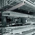 Used Automation Belt Driven Live Roller Conveyor