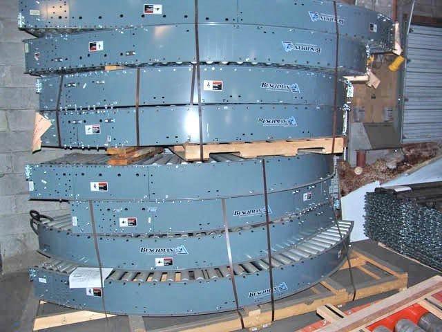 Buschman Lineshaft Conveyor Curves