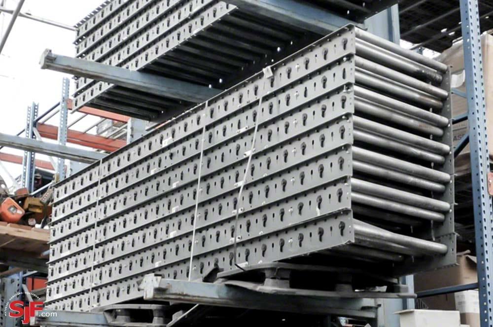 Used FKI Belt Driven Roller Conveyor