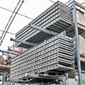 Used FKI Belt Driven Live Roller Conveyor at SJF Material Handling