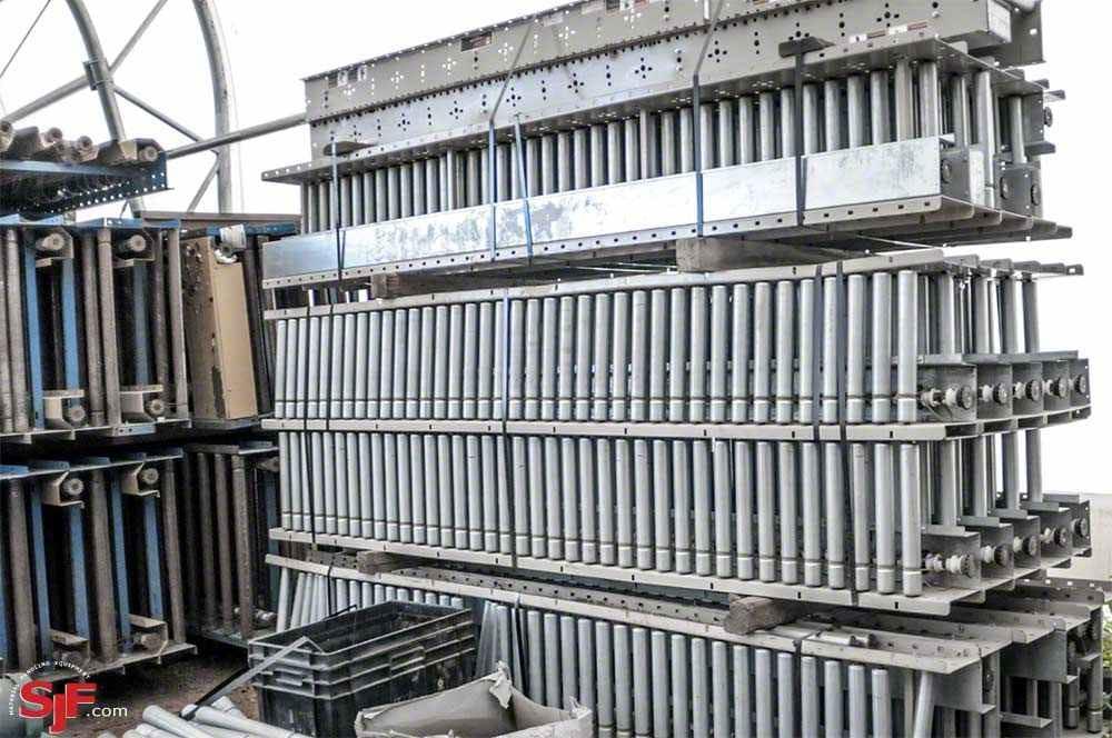 Used HK Power Lineshaft Conveyors