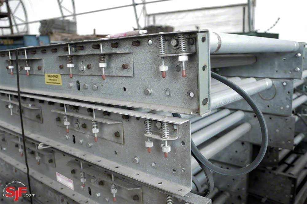Used Hytrol Belt Driven Live Roller Conveyor