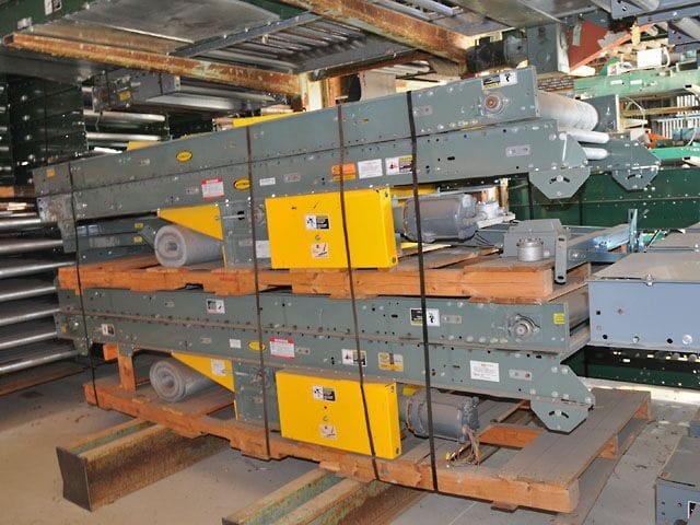 Industrial Hytrol Belt Over Roller Conveyor