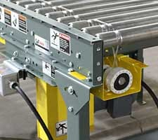 SJF Lineshaft Conveyor Kits Close Up
