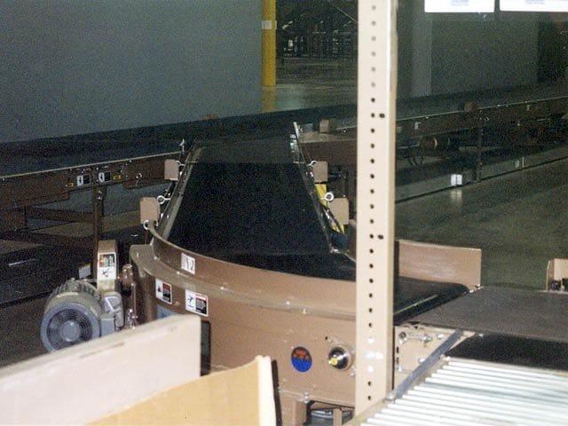 Induction Conveyor Curve
