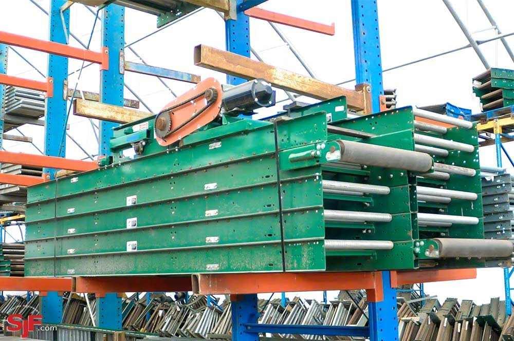 Rapistan Conveyor - Belt-over-roller