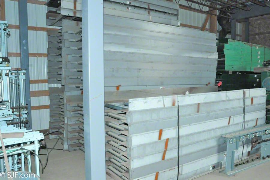 Roller Assisted Trash Conveyor - Bundles