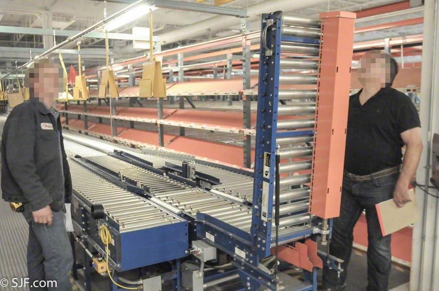 Xenoroll Lineshaft Conveyor Liftgate