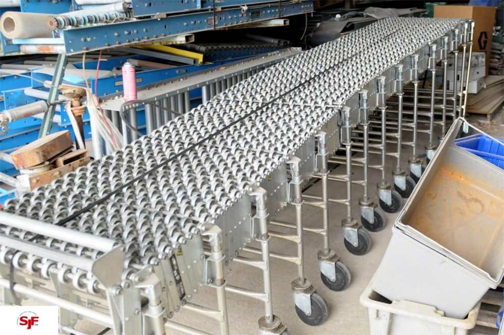 Best Flex Flexible Skatewheel Conveyor