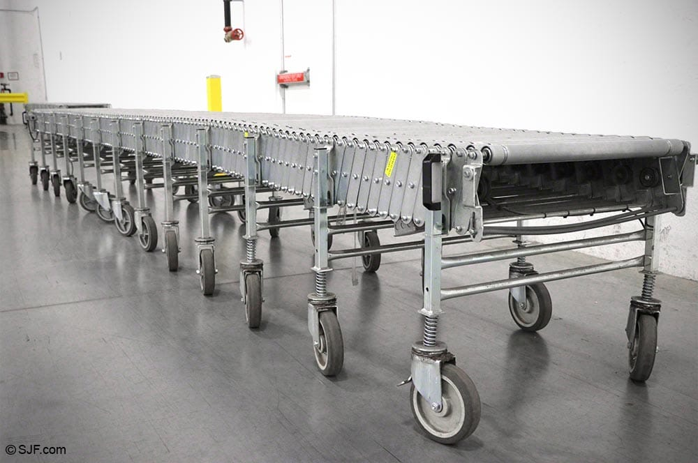 Best Flex Flexible Power Conveyor Side