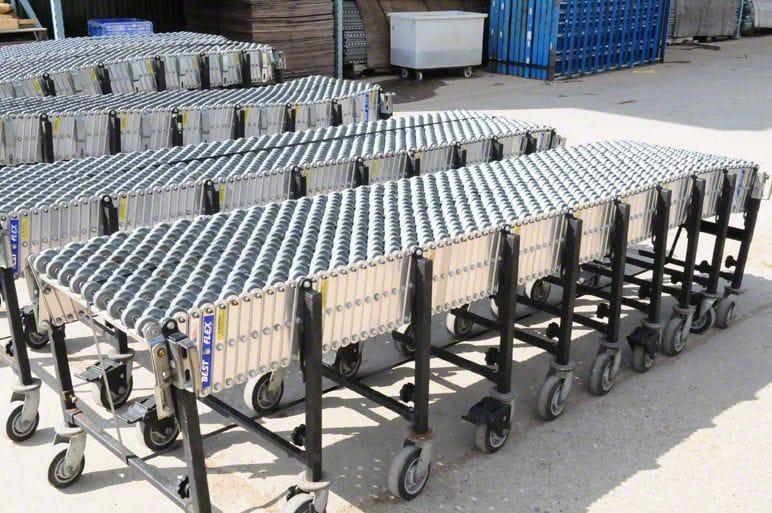 BestFlex Skatewheel Flexible Conveyor
