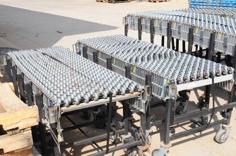 Used BestFlex Flexible Conveyors