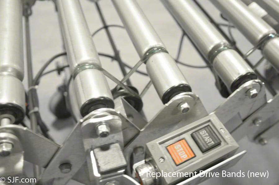 NestaFlex Powered Conveyor Drive-Bands – NEW