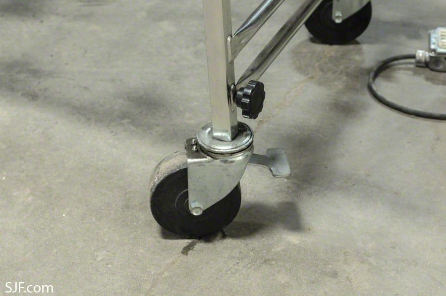 NestaFlex Conveyor Caster Detail
