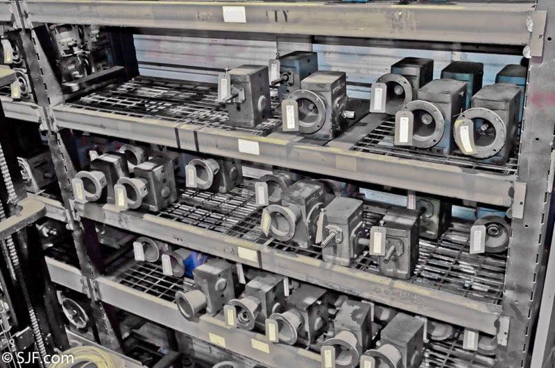 Gear Boxes for Power Conveyor