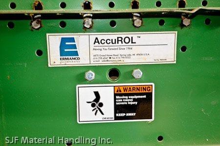 Ermanco Accurol Accumulation Product Label