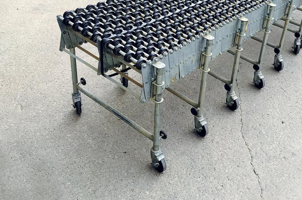 Poly Flexible Skatewheel Conveyor