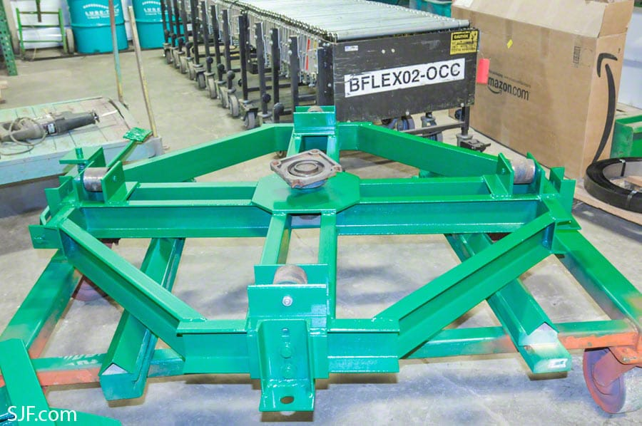 Gravity Conveyor Turntable Frame