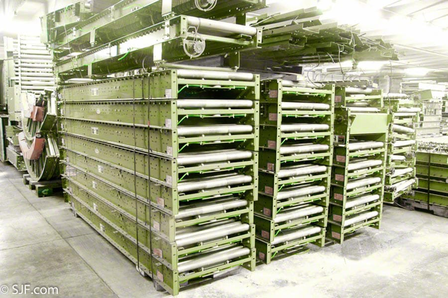 Hytrol Lineshaft Accumulation conveyor
