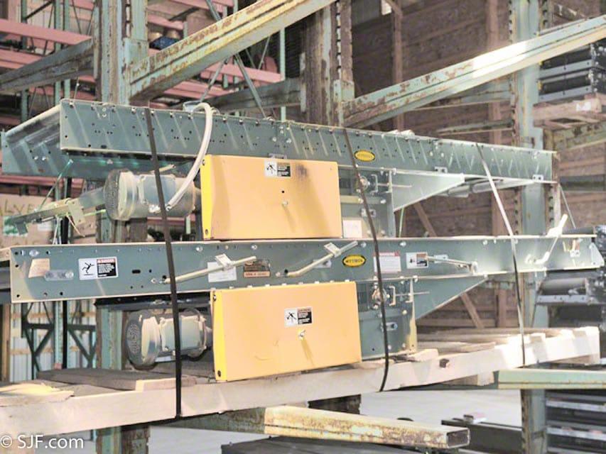 Hytrol Belt Driven Roller Conveyor Used