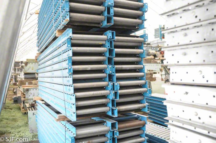 Hytrol Gravity Roller Conveyor Used