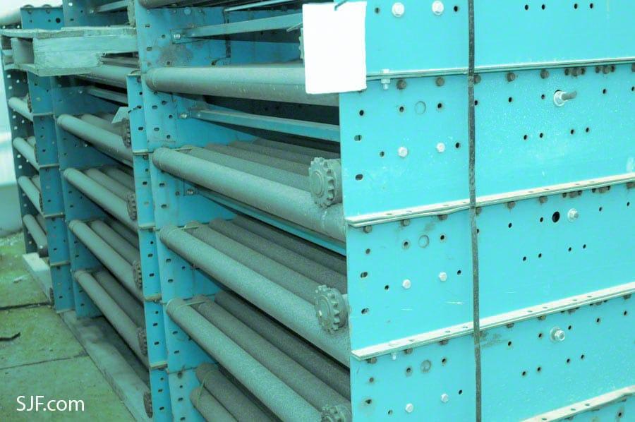 Lineshaft Conveyor Used As Is