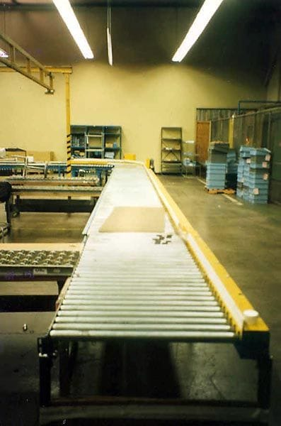 Pallet Conveyor, Chain Driven Conveyor