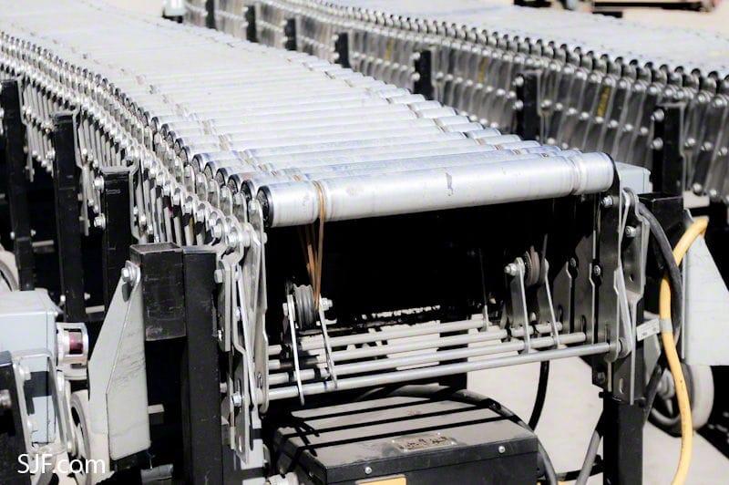 BestFlexBestflex Powered Conveyor End View