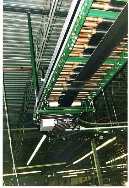 Underside of a Belt Driven Conveyor