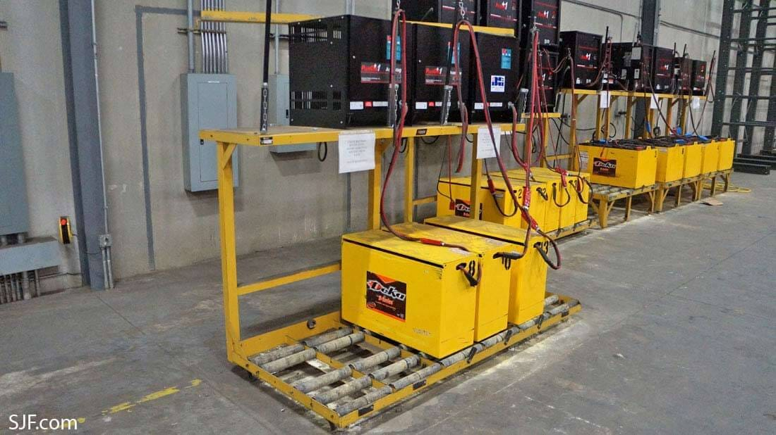 Used Forklift Batteries Amp Forklift Battery Chargers Sjf Com