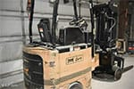 Bendi Swivel-Front Narrow Aisle Forklift Truck - Back