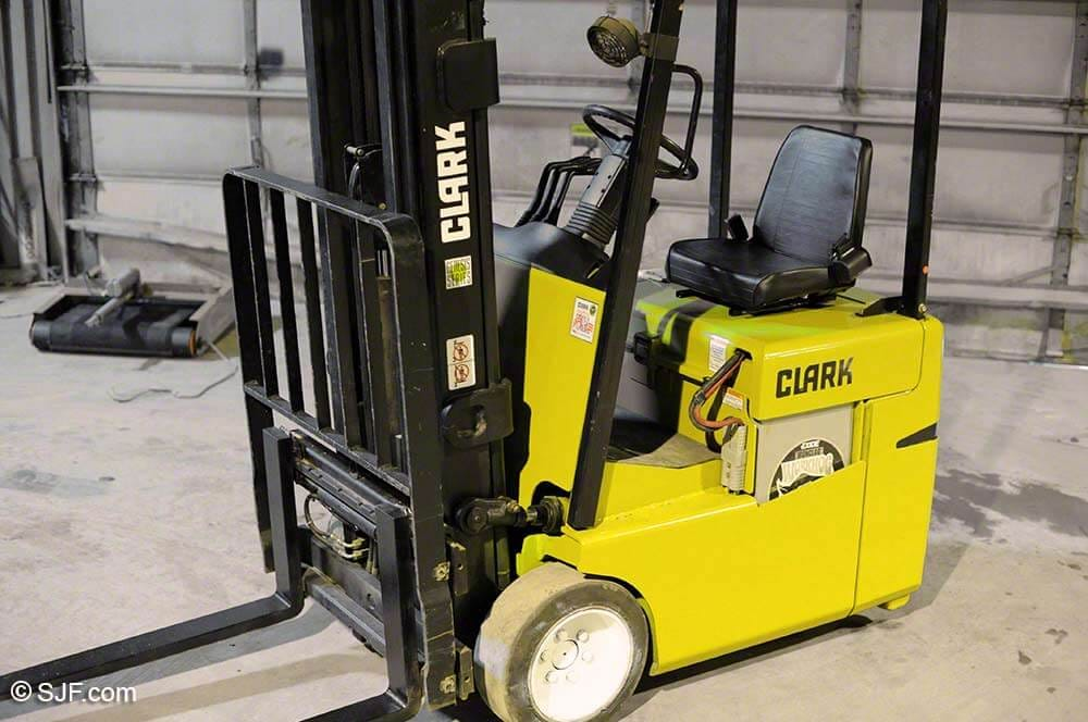 Clark Three Wheel Forklift - Tag 93