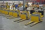 Hyster Electric Pallet Jacks - Front View
