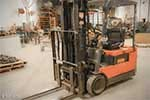 Toyota 3-Wheel Cushion Tire Forklift - Tag 131