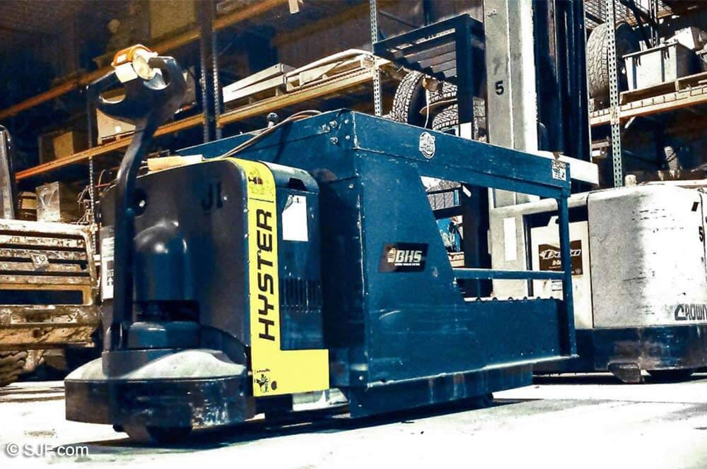 hyster electric pallet jack manual