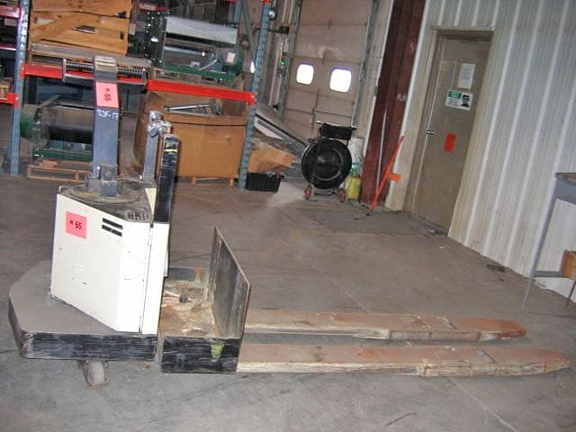 Crown Electric Pallet Jack – Tag 55