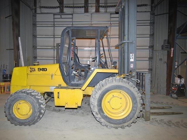 JCB Rough Terrain Forklift – Tag 85