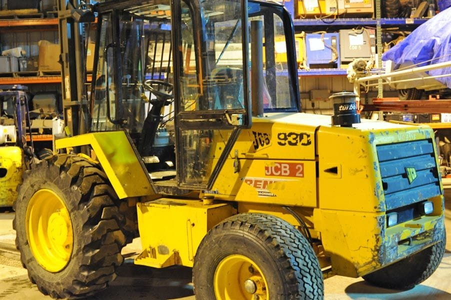 JCB Rough Terrain Forklift – Tag 67