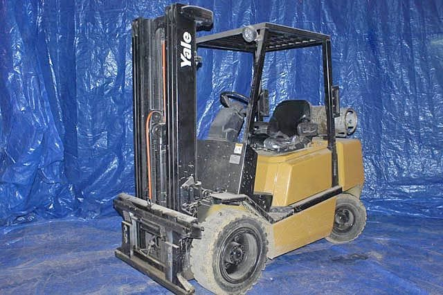 Yale Pneumatic Tire Forklift - Tag 61
