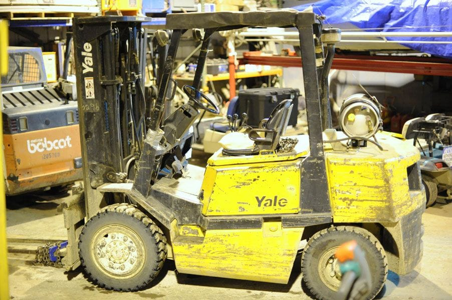Yale Pneumatic Tire Forklift - Tag 86
