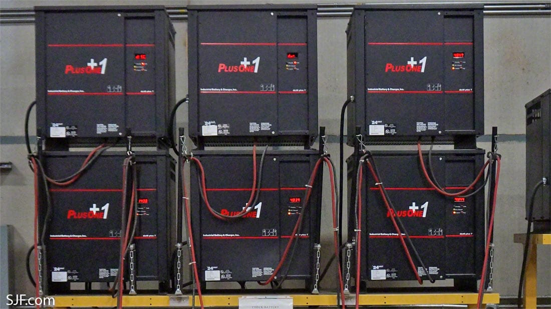 Forklift Battery Chargers