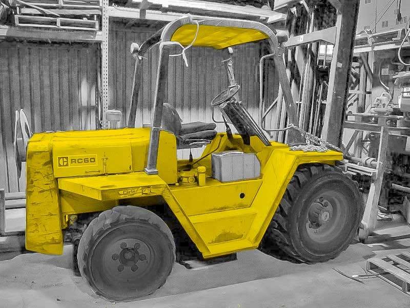 Cat RC60 Pneumatic Forklift